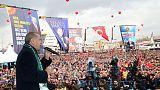 أردوغان: ترامب أكثر تفهما للخطة العسكرية التركية في شرق سوريا