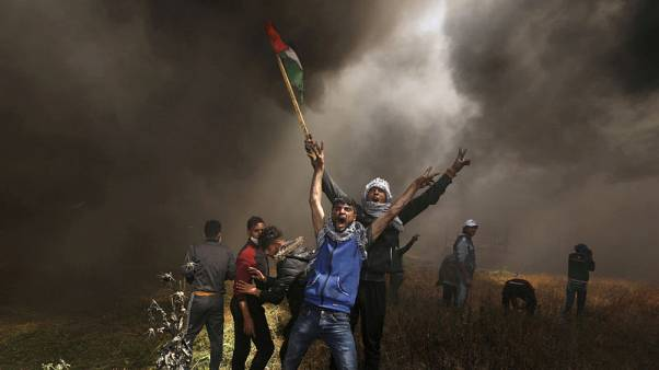As smoke clears, capturing the Israeli-Palestinian conflict