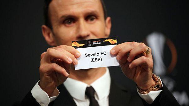 Sevilla face Lazio in Europa League last 32