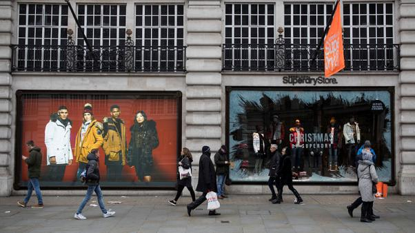 UK consumer spending falls by most since July in run-up to Brexit – Visa data