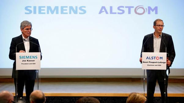 Siemens, Alstom offer to sell high-speed train technology - sources