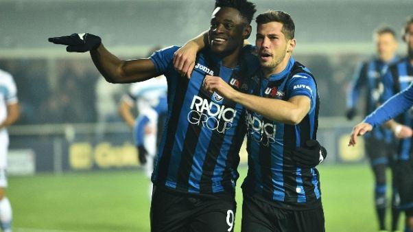 Serie A: Atalanta-Lazio 1-0
