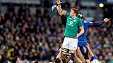 Ireland lock Henderson to miss start of Six Nations