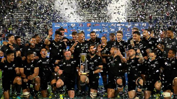 Yearender - Rugby - Cracks in New Zealand edifice give rest of world hope