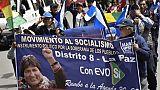 Bolivie: Evo Morales tout près d'une quatrième candidature malgré les manifestations