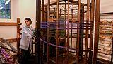 Les tisserands florentins, héritiers du génie de De Vinci
