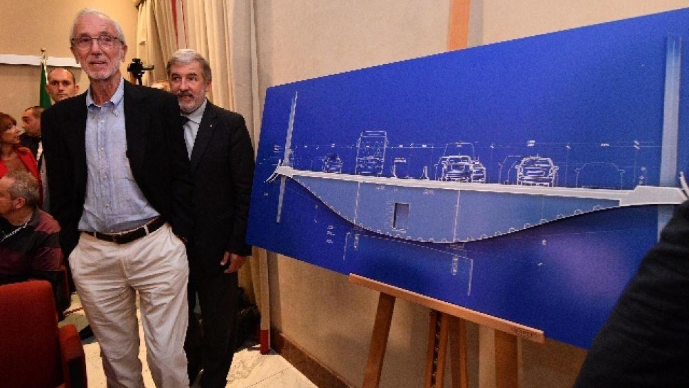 c8e508b4b1 Etleboro.org - Ponte Genova: in corso le operazioni di taglio dei 'denti'  del moncone