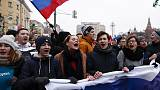 Russian lawmakers back law jailing anyone urging teenagers to protest