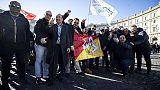 Ncc contro riforma, Roma blindata