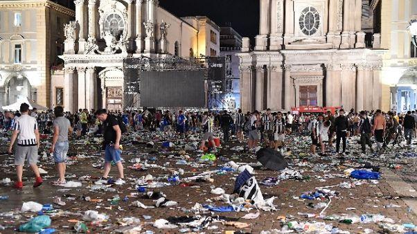San Carlo, chiesto giudizio banda spray