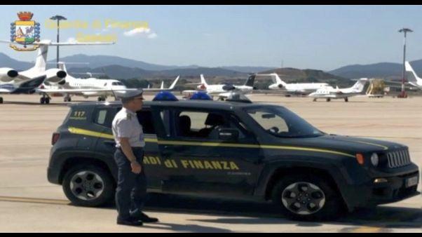 Aerotaxi in Costa Smeralda,evasi 2,5 mln