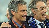 Moratti, sarò sempre vicino a Mourinho