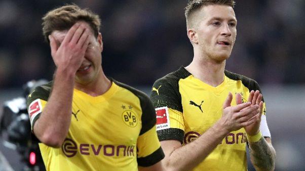 Borussia Dortmund 'scivola' a Dusseldorf