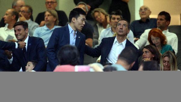 Inter: Zhang, è ora di tornare a vincere