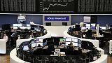 مكاسب حذرة للأسهم الأوروبية قبيل اجتماع مجلس الاحتياطي