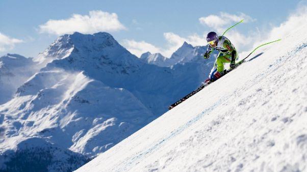 Sci: SuperG in Val Gardena alla Stuhec
