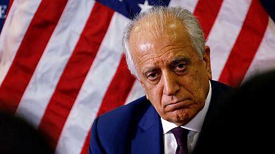 U.S. envoy visits Kabul after talks with Taliban on Afghan peace