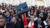 Tunisian teachers march for better wages and conditions