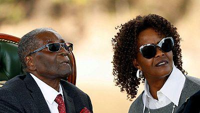 South Africa issues arrest warrant for Zimbabwe's Grace Mugabe