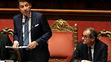 Italy's Conte hails EU budget deal, says govt priorities protected