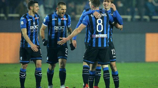 Atalanta:de Roon, Var decisiva con Lazio