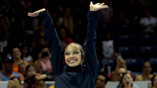 Top U.S. rhythmic gymnast Zeng handed six-month doping ban