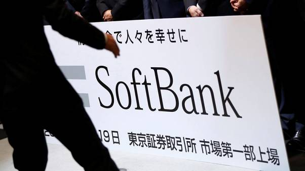 SoftBank Corp shares fall sharply again, recover, after record IPO