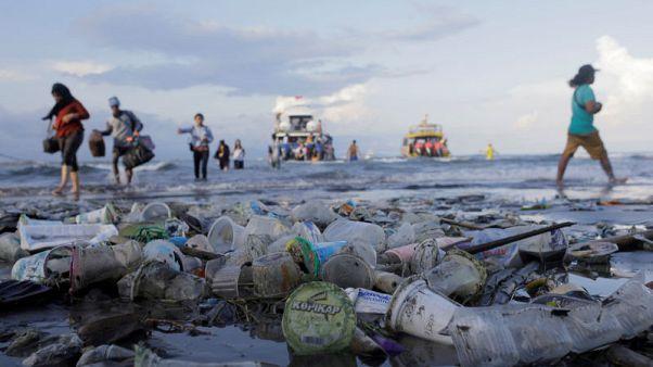 EU agrees to ban throw-away plastics to limit ocean pollution