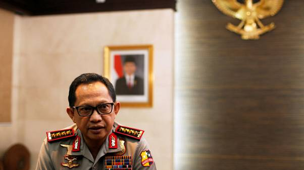 Indonesia uses tougher anti-terror law to detain suspects for holidays