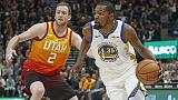 Nba:Utah sorprende Warriors,super Gobert