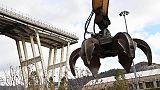 Ponte Genova: Bucci,iniziata demolizione