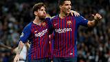 Suarez and Messi rekindling magic as favoured victims Celta await