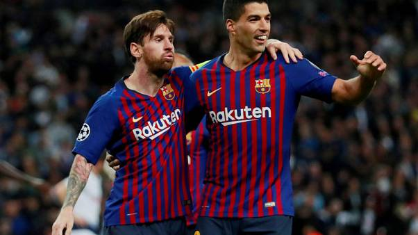 Suarez and Messi rekindling magic as favoured victims Celta await