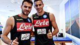 Napoli: Meret, restiamo in scia Juve