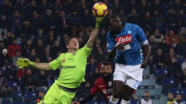 Calcio: Koulibaly nel mirino United