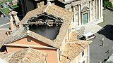 Crollo tetto, riapre chiesa centro Roma
