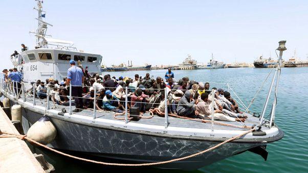 Libyan coast guard says it has intercepted 15,000 migrants in 2018