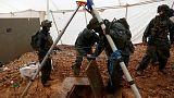 الجيش الإسرائيلي يبدأ سد أنفاق عبر الحدود من لبنان