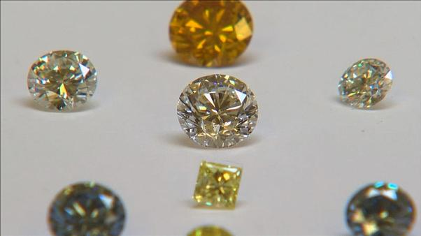Lab-grown diamond prices slide as De Beers fights back
