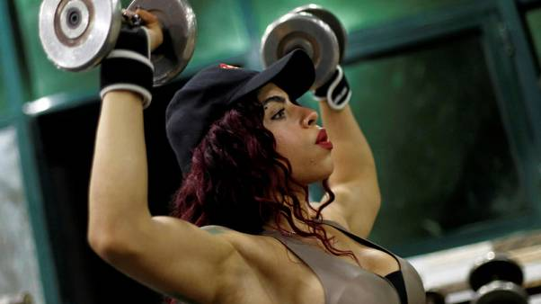 Defying prejudice, Egyptian woman racks up global bodybuilding awards