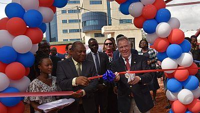 Inauguration de la Radio la Voix de l'Amérique au Togo