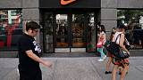 Nike shares rise as strong quarterly results allay China demand concerns