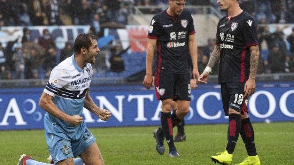 Serie A: Lazio-Cagliari 3-1