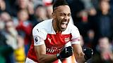 Angleterre: Aubameyang, Özil et Arsenal brillent contre Burnley