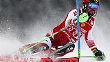 Cdm: slalom Campiglio, in testa Hirscher