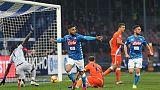 Serie A: vince il Napoli e Milan va ko