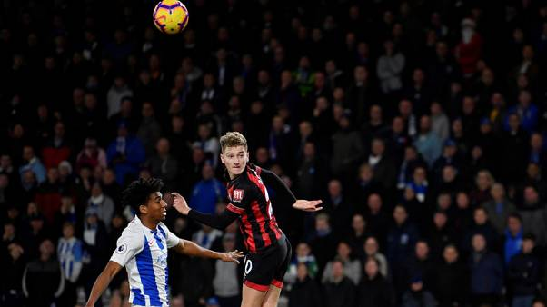 Brooks double gives Bournemouth 2-0 win over Brighton