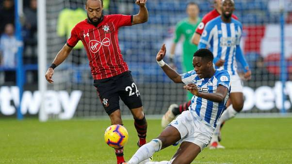 Southampton power past Huddersfield Town