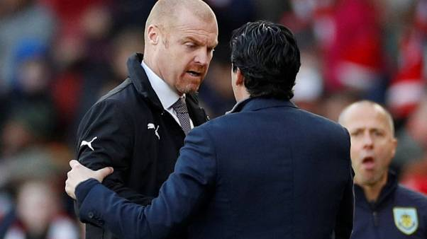 Burnley manager Dyche fumes over diving in Premier League
