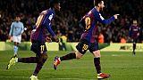 Espagne: Barcelone bat le Celta 2-0 et finit l'année en tête